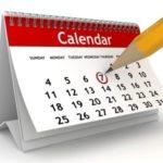 Consulta il calendario dei corsi .